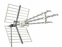 EMME ESSE Antenna Digitale Terrestre 45WSL 3-Line LTE 41 Elementi TV Televisore