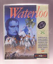 Waterloo (Mirrorsoft 1989) Atari ST Juego-Medio En Caja-Completo & en muy buena condición