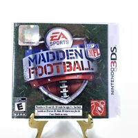 Madden NFL Football Nintendo 3DS XL 2DS EA Sports NEW Sealed Video Game