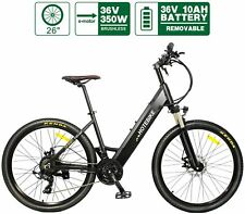 "Electric Bike HOTEBIKE 26"" 36V 350W 10AH Electric City Bicyle Hidden Battery"