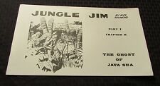 1972 JUNGLE JIM by Alex Raymond Part 1 Ch.2  B&W Sundays King Features KFS VF-