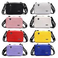 Fashion Mini suitcase cosmetic bag travel clutch bag storage bag make up bag USA