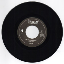 SHAOLIN TEMPLE DEFENDERS What About You /Stop Whining MODERN SOUL FUNK 45 Listen