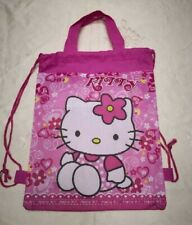 Party : Hello Kitty  Drawstring Loot Bag 12 pcs