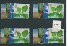 Gb-Conmemorativas - 2000-M16-cuatro conjuntos-Life & Tierra-Abril-Usado