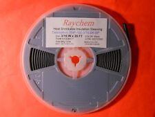 """3/16"""" x 20 Feet RNF-100-3/16-BK-SP Raychem HEAT SHRINK TUBING BLACK Inch"""