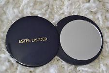 ESTEE LAUDER ROUND COMPACT MIRROR NAVY NIP