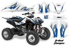 Suzuki LTZ 400 AMR Racing Graphic Kit Wrap Quad Decals ATV 2009-2012 TRIBAL BLUE
