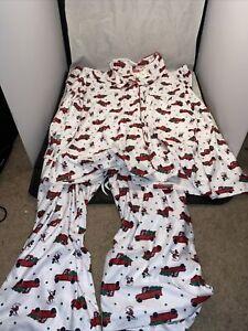 Disney Christmas Mickey Truck Christmas Tree pajama set Plus Size 3x