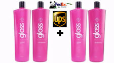 Fox Gloss Brazilian Keratin Hair Treatment 4 X 1000 ML. Free Shipping by FedEx
