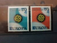 Germany  - 1969 -  EUROPA CEPT COGWHEELS  - 2 stamps  - MNH