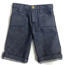 Doll Clothes fits 18 inch American Girl Dolls-Denim Jeans Capris with Pockets