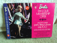 1970  BARBIE FAN CLUB MEMBERSHIP OFFER ~ NEVER PLAYED WITH  #1885