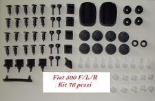 Kit gommini Fiat 500 F/L/R - 76 pezzi