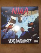 ICE CUBE SIGNED AUTOGRAPHED NWA STRAIGHT OUTTA COMPTON ALBUM VINYL LP w/COA