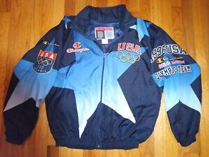 ATLANTA 1996 CHAMPION OLYMPIC VINTAGE TEAM USA WINDBREAKER NEW WO/TAGS SIZE XL.