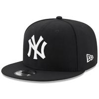 New York Yankees New Era MLB Black & White 9FIFTY Snapback Hat