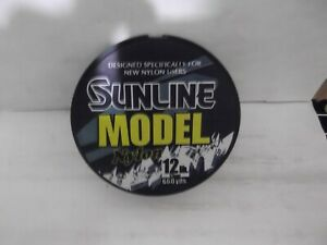 Sunline Model Nylon 12 lb clear monofilament  660yd spools