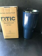 RTIC 20 oz tumbler with lid - NIB - Navy - Free Shipping!