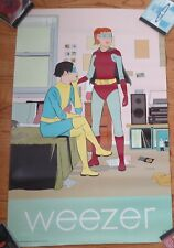 Weezer Superheroes Promotional Poster 22 X 35