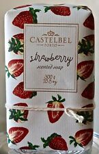 CASTELBEL PORTO STRAWBERRY SCENTED SOAP BAR STRAWBERRY WRAPPING PAPER 10.5OZ NEW