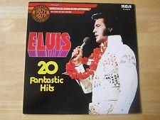 Elvis Presley LP titled,  Elvis 20 Fantastic Hits, RCA #PL-42274, Holland