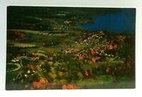 Westport New York Aerial View Lake Champlain Postcard