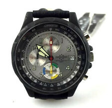 WATCH CHRONOSTAR design SECTOR CHRONO BLACK OROLOGIO RELOJ MONTRE WR 50 M NUOVO