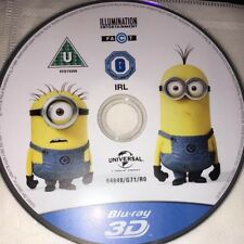 Despicable Me 2 (3D Blu-ray, 2013) New 3D Blu-ray Disc Only Region Free