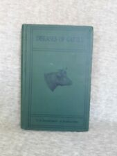 Vintage  1923 US Department Of Agriculture Diseases Of Cattle Veterinary Book
