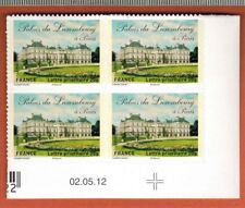 2012 - ADHESIF- 4 TIMBRES - COIN DATE - Palais Du Luxembourg - STAMP - Yt.730a