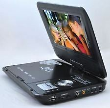 "Portable DVD/EVD with 7.8"" LED Screen with 3D/FM/TV Tuner/Card Reader/USB/Game"