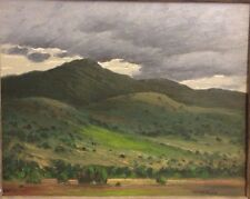"""Vintage Landscape Painting Listed Signed Dawson Napps 1907-1994 NM """"Undulations"""""""