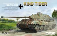 Meng TS-037 Model 1/35 German Sd.kfz.182 King Tiger Porsche Turret SuperWar