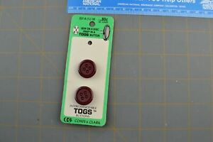 Vintage Button Plastic Round Retro Style B-213