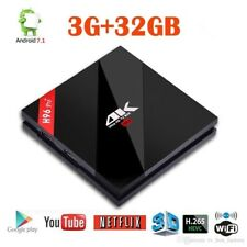 H96 PRO + PLUS Octa Core Android 7.1 3GB/32GB TV BOX 4K Amlogic 2.4G/5GHz UK/EU P