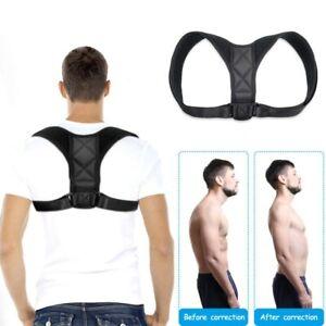 Adjustable Posture Corrector Clavicle Shoulder Back Support Brace Strap Size XS
