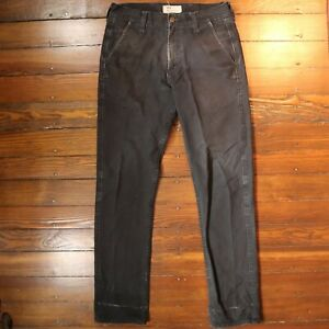 Filson x Levi's Tin Cloth Trousers - Black - Size 30 - Made in USA