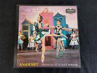 DELIBES COPPELIA Ansermet 2 LP Box Set UK Import LondonLL 1717/18 NM