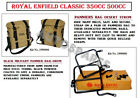 """Royal Enfield """"Desert Storm""""Color Military Pannier & Fitting For Classic350 500"""