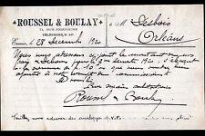 """EVREUX (27) EPICERIE """"ROUSSEL & BOULAY"""" en 1920"""
