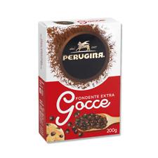 GOCCE CIOCCOLATO FONDENTE EXTRA PERUGINA CACAO DECORAZIONE TORTE DOLCI E DESSERT
