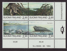 Finland 1995 MNH - Animals - Views - Joint issue with Russia - set of 4 stamps