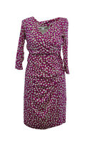 ** Diane Von Furstenberg (DVF) ** pink Silk Dress ** USA 8 / Uk 12 **