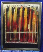 Künstlerisch hochwertige, moderne Komposition, abstrakte Komposition, Öl