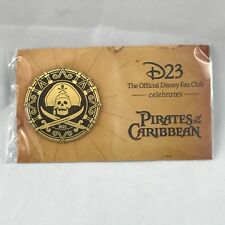 Disney D23 Pirates of the Caribbean pin - NEW & SEALED, with backing card