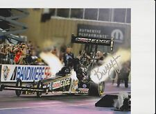 BRITTANY FORCE  IN HER 330 MPH MONSTER T/F,HAND SIGNED IN SILVER,ORIGINAL!