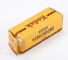 KODAK 118 VERICHROME PAN FILM, EXPIRED JUL 1944, SOLD FOR DISPLAY/cks/197892