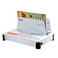 220V Automatic Hot Melt Binding Machine A3 A4 A5 Book Envelope Binder 550 Sheets