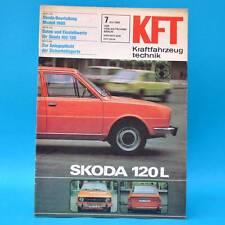 DDR KfT Kraftfahrzeugtechnik 7/1980 Harley-Davidson Citroen Skoda Minarelli B